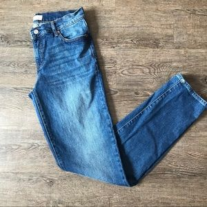 GAP Real Straight Mid Rise Jeans